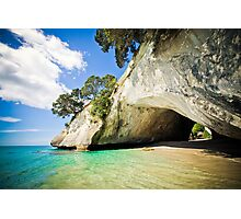 Cathedral Cove, New Zealand  Photographic Print