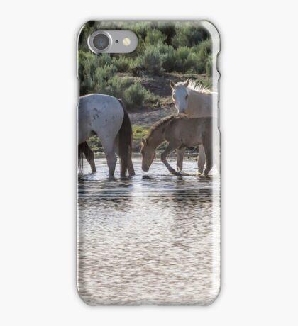 Reaching the Waterhole iPhone Case/Skin