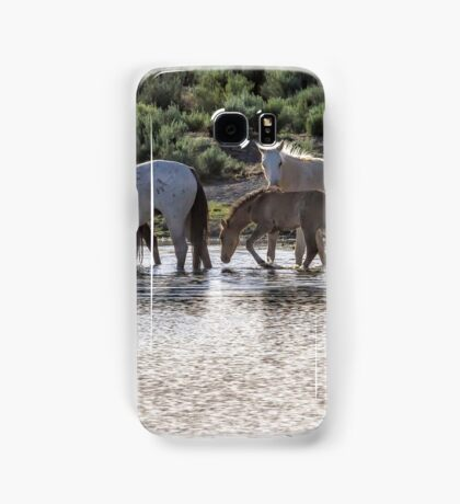 Reaching the Waterhole Samsung Galaxy Case/Skin