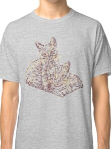 Two Mighty Kittens Classic T-Shirt