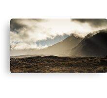 Tongariro in the Mist Canvas Print