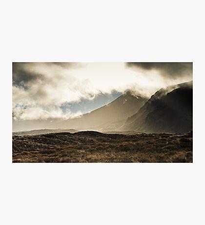 Tongariro in the Mist Photographic Print