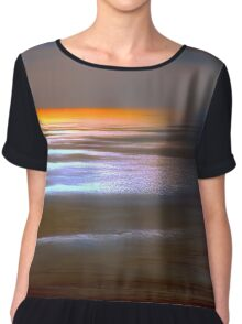 Sunset Glow by Lena Owens Chiffon Top