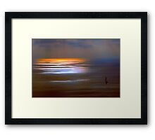 Sunset Glow by Lena Owens Framed Print