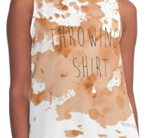 Pottery Throwing Shirts - Clay not included  Contrast Tank