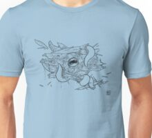 Death Knell of the Nautilus - Black Line Unisex T-Shirt