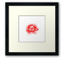 Floral Skull Framed Print