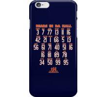 BEARS IN DA HALL iPhone Case/Skin