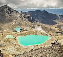 Emerald Lakes by Shaun Jeffers Photography