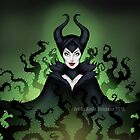 Maleficent  by Redhead-K