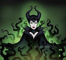 Maleficent  by Redhead-K