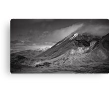 Volcano Clouds Canvas Print