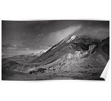 Volcano Clouds Poster