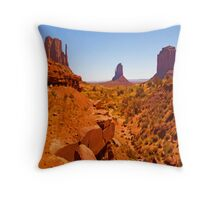 Paint The Valley Throw Pillow