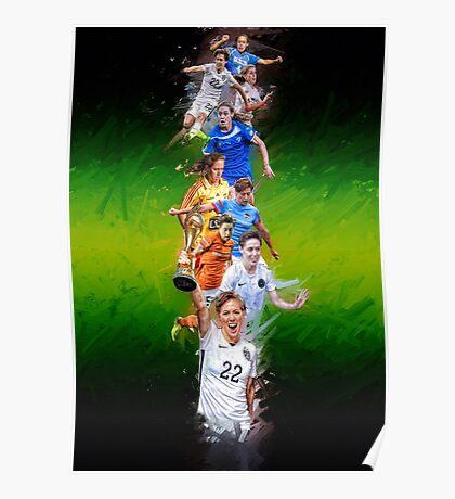 Meghan Klingenberg (From University of North Carolina to Portland Thorns + National Team) Poster
