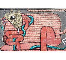 Abstract Graffiti Art Animal Photographic Print