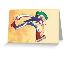 Izuku Midoriya (Deku) Greeting Card