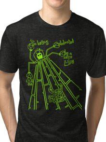 Cute UFO by Lolita Tequila Tri-blend T-Shirt