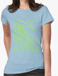 Cute UFO by Lolita Tequila Womens Fitted T-Shirt