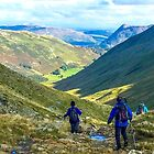 Grisedale Tarn to Ullswater, Lake District National Park, UK by GeorgeOne