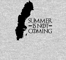 Summer is NOT coming - sweden(black text) Unisex T-Shirt