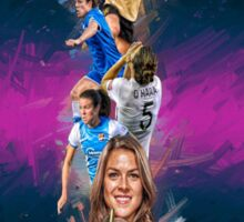Kelley O'Hara (From Stanford University to Sky Blue F.C + National Team) Sticker