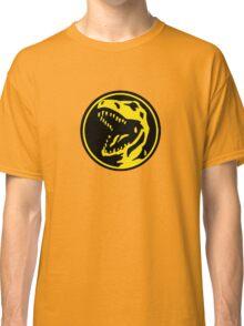 Mighty Morphin Power Rangers Red Ranger Symbol Classic T-Shirt