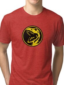 Mighty Morphin Power Rangers Red Ranger Symbol Tri-blend T-Shirt