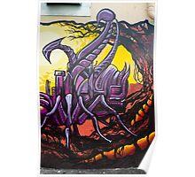 Graffiti Art Scorpion Poster