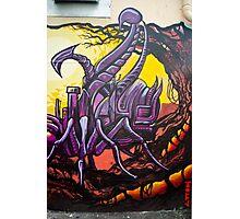 Graffiti Art Scorpion Photographic Print