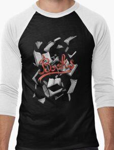 Books Men's Baseball ¾ T-Shirt