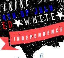 Independence Day Apparel Sticker