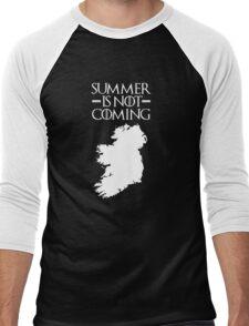 Summer is NOT coming - ireland(white text) Men's Baseball ¾ T-Shirt