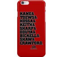 Hawks Roster Tee iPhone Case/Skin