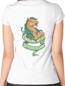 Green Run 30 Year Reunion Women's Fitted Scoop T-Shirt