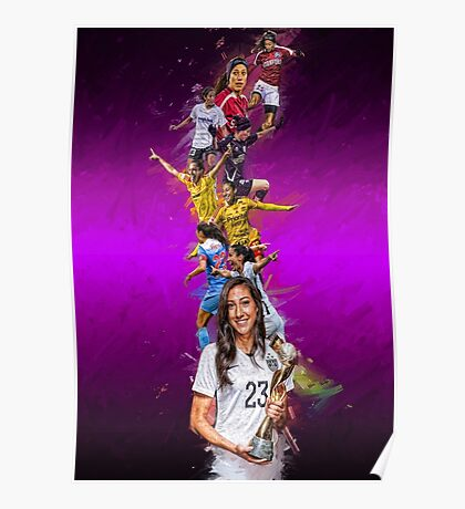 Christen Press (From Stanford University to Chicago Red Stars + National Team) Poster