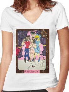 Melanie Martinez - Dollhouse Women's Fitted V-Neck T-Shirt