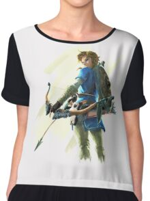 Link zelda breath of the wild Chiffon Top