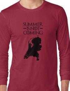 Summer is NOT coming - netherlands(black text) Long Sleeve T-Shirt