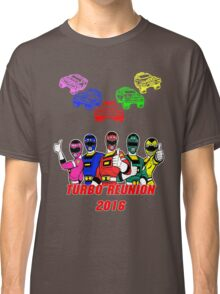 Turbo Reunion 2016 (Rangers and Zords) Classic T-Shirt