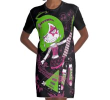 Lulu Rock Star by Lolita Tequila Graphic T-Shirt Dress