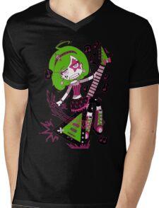 Lulu Rock Star by Lolita Tequila Mens V-Neck T-Shirt