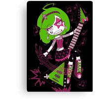 Lulu Rock Star by Lolita Tequila Canvas Print