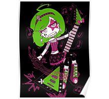Lulu Rock Star by Lolita Tequila Poster