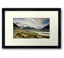 Mt Cook and Hooker Lake Framed Print