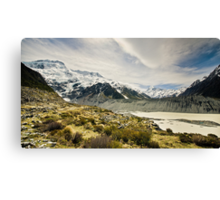 Mt Cook and Hooker Lake Canvas Print
