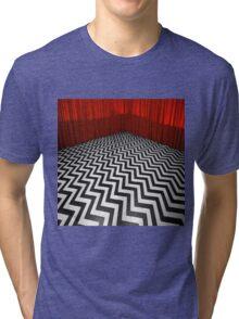 THE BLACK LODGE Tri-blend T-Shirt
