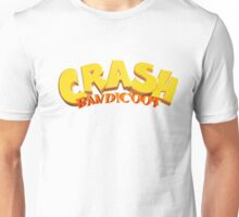 Crash Bandicoot Logo Unisex T-Shirt