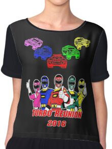Turbo Reunion 2016 (Rangers and Zords) Chiffon Top