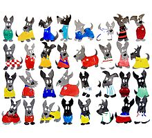 Scottie Dog 'World cup 2014' Photographic Print